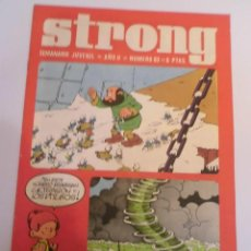 Cómics: STRONG NUMERO 62 - EDICIONES ARGOS - 1969. Lote 152567114
