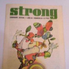 Cómics: STRONG NUMERO 63 - EDICIONES ARGOS - 1969. Lote 152567302