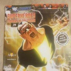 Cómics: DC CÓMICS, SUPERHÉROES FIGURAS DE COLECCIÓN. BLACK ADAM, N°29. EL PERSONAJE. ALTAYA.. Lote 152589906