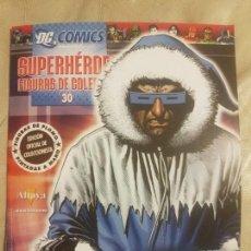 Cómics: DC CÓMICS, SUPERHÉROES FIGURAS DE COLECCIÓN. CAPTAIN COLD, N°30. EL PERSONAJE. ALTAYA.. Lote 152590138