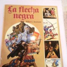 Cómics: LA FLECHA NEGRA - COMIC CARTONE GRAN FORMATO - ED. AFHA - . Lote 152674902