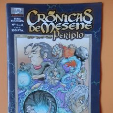 Cómics: CRÓNICAS DE MESENE. Nº 1 DE 8. PERIPLO - ROKE GONZÁLEZ. JOSÉ MARÍA REYES. AURE JIMÉNEZ. Lote 152706158