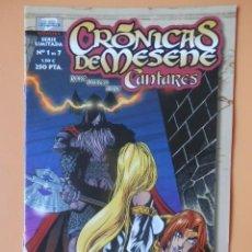 Cómics: CRÓNICAS DE MESENE. Nº 1 DE 7. CANTARES - ROKE GONZÁLEZ. MATEO GUERRERO. AURE JIMÉNEZ. Lote 152706190