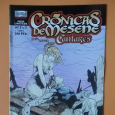 Cómics: CRÓNICAS DE MESENE. Nº 5 DE 7. CANTARES - ROKE GONZÁLEZ. MATEO GUERRERO. AURE JIMÉNEZ. Lote 152706238