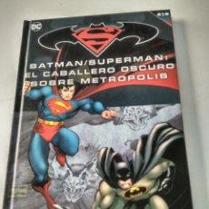 Cómics: BATMAN SUPERMAN EL CABALLERO OSCURO SOBRE METROPOLIS. Lote 152780678