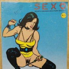 Comics : SEXO - Nº 1 - ED. EDIRUSA. Lote 152891086