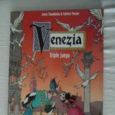 Comics: PERFECTO ESTADO. VENEZIA. TRIPLE JUEGO. ASTIBERRI. Lote 153030102