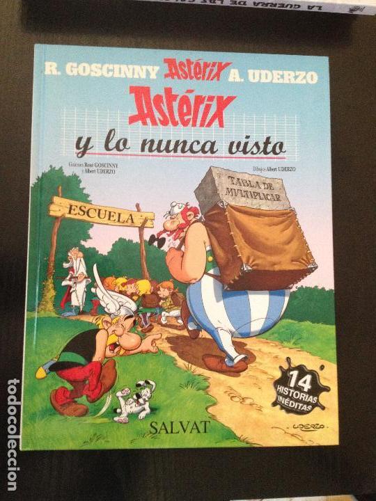 ASTERIX Y LO NUNCA VISTO-SALVAT (Tebeos y Comics - Comics otras Editoriales Actuales)