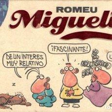 Cómics: ROMEU : MIGUELITO VOLUMEN 1 (ESTRIP, 1991) . Lote 153326034