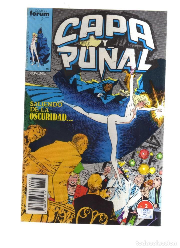 CAPA Y PUÑAL N2 FORUM (Tebeos y Comics - Comics otras Editoriales Actuales)