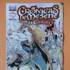Cómics: CRÓNICAS DE MESENE. Nº 6 DE 7. CANTARES - ROKE GONZÁLEZ. MATEO GUERRERO. AURE JIMÉNEZ. Lote 153616648