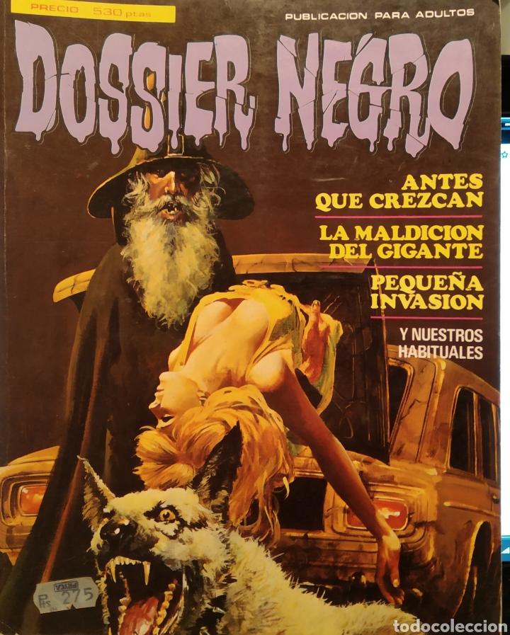 DOSSIER NEGRO (Tebeos y Comics - Comics Colecciones y Lotes Avanzados)