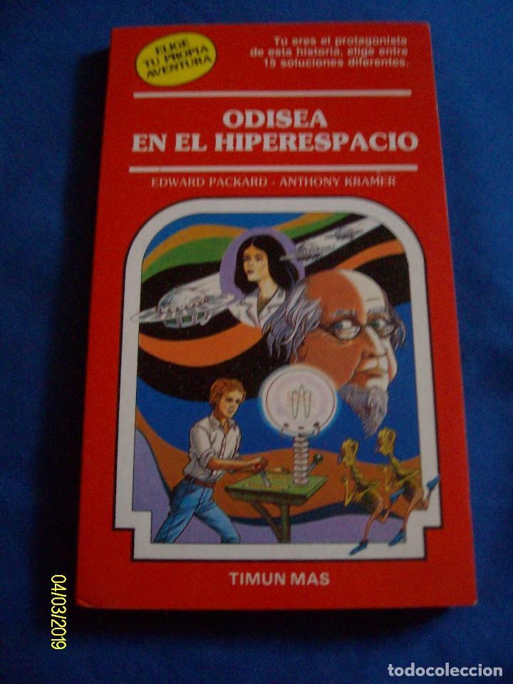 ODISEA EN EL HIPERESPACIO EDWARD PACKARD TIMUN MAS Nº 22 ELIGE TU PROPIA AVENTURA (Comics und Tebeos nicht eingeordnete)
