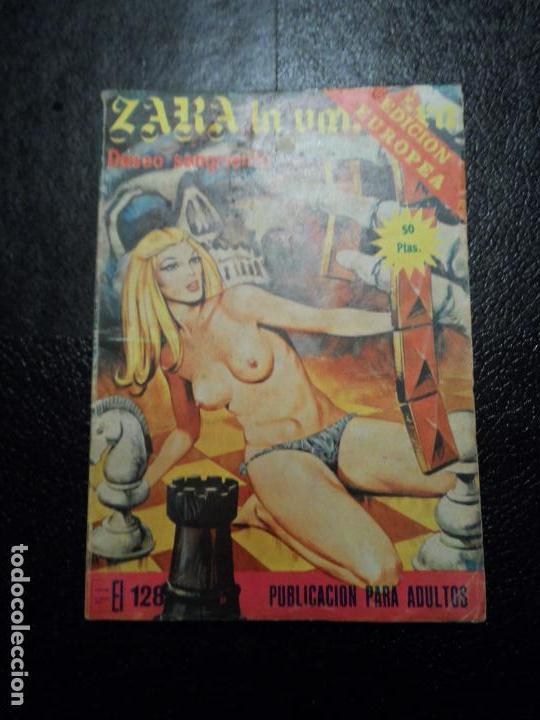ZARA LA VAMPIRA Nº 24 / DESEO SANGRIENTO / EDITA ELVIBERIA (Tebeos y Comics - Comics otras Editoriales Actuales)