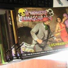 Cómics: EL HOMBRE ENMASCARADO. LOTE CON LOS NÚMEROS 33 AL 74. ETAPA APAISADA. EDICIONES B.. Lote 153814026