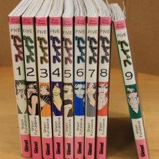 Cómics: FIVE. SHIORI FURUKAWA. NUM. 1 AL 9. MANGA. EDICIONES GLÉNAT, 2009. Lote 153822577
