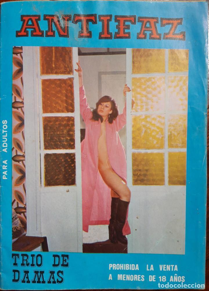 COMIC ANTIFAZ TRIO DE DAMAS. NUMERO 6. AÑO 1977 (Tebeos y Comics Pendientes de Clasificar)