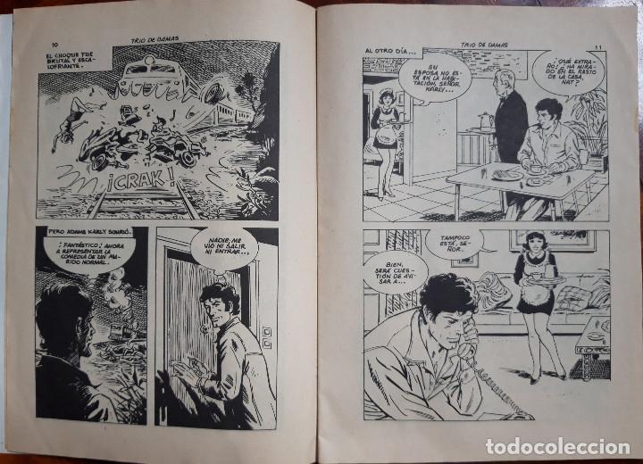 Cómics: COMIC ANTIFAZ TRIO DE DAMAS. NUMERO 6. AÑO 1977 - Foto 2 - 154052050