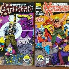 Fumetti: PROYECTO EXTERMINIO. COMPLETA 1 AL 9. FORUM,1992.. Lote 154337694
