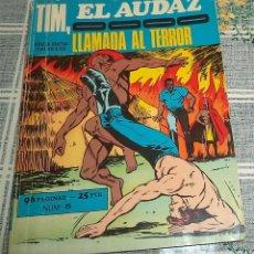 Cómics: TIM EL AUDAZ N.º 5 LLAMADA AL TERROR EUREDIT PASTA SEMIRIGIDA 96 PAGINAS . Lote 154444862
