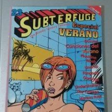 Cómics: SUBTERFUGE 23 ESPECIAL VERANO 1998. FANZINE. Lote 154566870