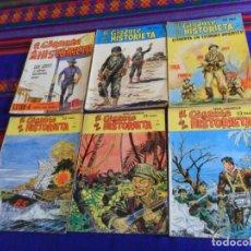Cómics: EL GIGANTE DE LA HISTORIETA SERIE AMARILLA 2 5 7 SERIE AZUL 5 28, EXTRA-2 Y EXTRA-4. MANHATTAN.. Lote 154626910