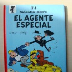 Comics: VALENTÍN ACERO Nº 4 - EL AGENTE ESPECIAL (CASALS) POR PEYO. Lote 154643346