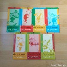 Cómics: LOTE 7 LIBROS COMIC OT EL BRUIXOT DE PICANYOL NÚMEROS 1-2-3-4-6-7-8 CAVALL FORT GALERA BUEN ESTADO. Lote 173600290