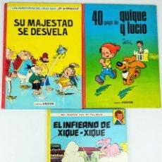 Cómics: 4 CÓMICS ARGOS. VV. AA. EDITORIAL ARGOS. S.A. BARCELONA 1971. Lote 154794170