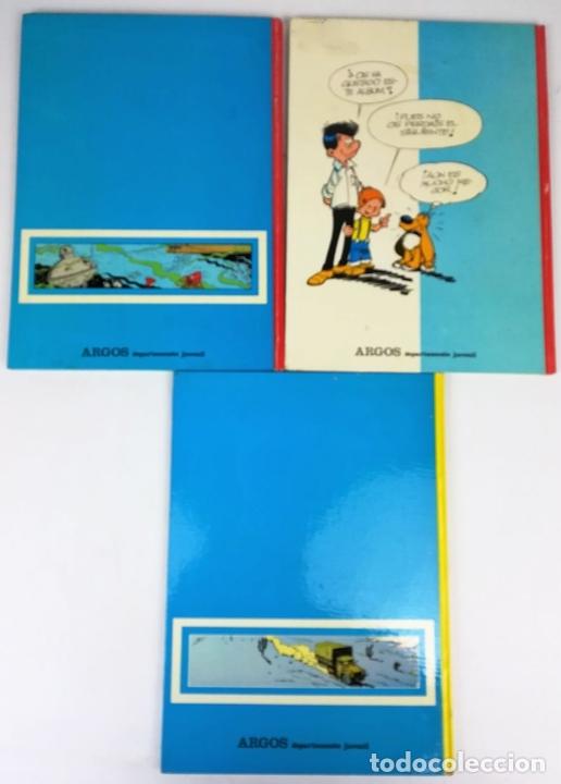 Cómics: 4 CÓMICS ARGOS. VV. AA. EDITORIAL ARGOS. S.A. BARCELONA 1971 - Foto 2 - 154794170