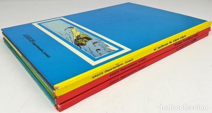 Cómics: 4 CÓMICS ARGOS. VV. AA. EDITORIAL ARGOS. S.A. BARCELONA 1971 - Foto 3 - 154794170