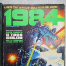Cómics: COLECCION COMPLETA 1984 - ENCUADERNACION DE LA EDITORIAL - 64 NUMEROS + 7 EXTRAS -TOUTAIN. Lote 154838034
