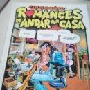 Cómics: ROMANCES DE ANDAR POR CASA POR CARLOS GIMENEZ - ED. DE LA TORRE PAPEL VIVO Nº 41 REF. UR EST. Lote 155080398