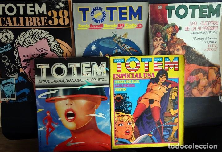 LOTE DE 5 COMICS,TOTEM, VER FOTOS (Tebeos y Comics Pendientes de Clasificar)
