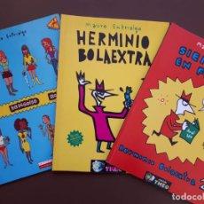 Cómics: LOTE MAURO ENTRIALGO - EL DEMONIO ROJO - HERMINIO BOLAEXTRA 1 Y 2. Lote 155218738