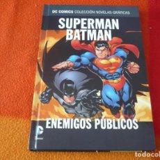 Cómics: SUPERMAN BATMAN ENEMIGOS PUBLICOS DC NOVELAS GRAFICAS 5 ( LOEB ) ¡MUY BUEN ESTADO! SALVAT ECC. Lote 155360882