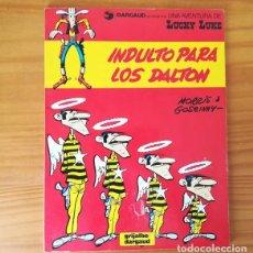 Cómics: LUCKY LUKE INDULTO PARA LOS DALTON, MORRIS & GOSCINNY. GRIJALBO DARGAUD 1985 RUSTICA. Lote 155436958