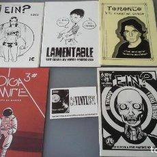 Cómics: VARIOS FANZINES SOBRE COMICS Y TEBEOS - TORONTO LAMENTABLE OIGA MIRE EIN? . Lote 155468350