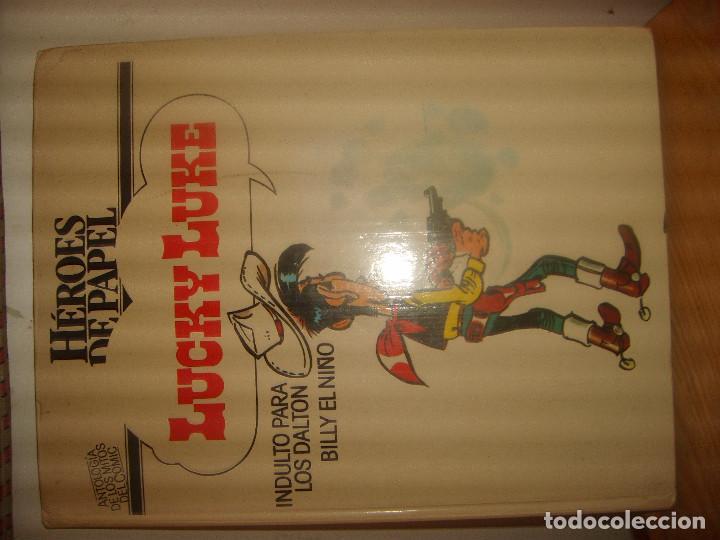 HÉROES DE PAPEL LUCKY LUKE, BILLY EL NIÑO, INDULTO PARA LOS DALTON. DARGAUD 1971. PORTES GRATIS. (Tebeos y Comics - Comics otras Editoriales Actuales)