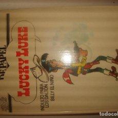 Cómics: HÉROES DE PAPEL LUCKY LUKE, BILLY EL NIÑO, INDULTO PARA LOS DALTON. DARGAUD 1971. PORTES GRATIS.. Lote 155499602