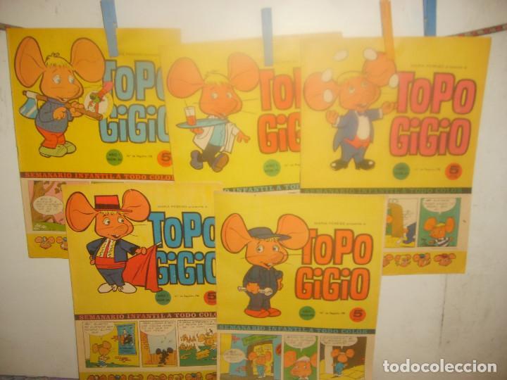 Cómics: TOPO GIGIO NºS 9 13 16 22 23 24 25 26 28 32 33 36 37 38 39 42 45 46 48 ALMANAQUE 1966. PORTES GRATIS - Foto 4 - 155502906