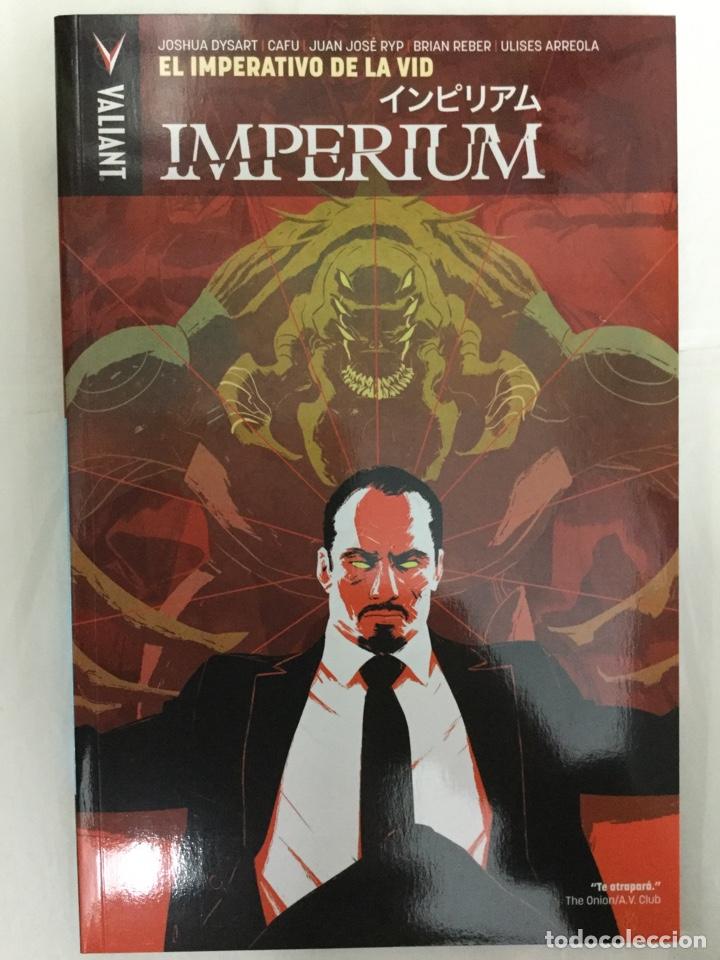 IMPERIUM 3. EL IMPERATIVO DE LA VID - DYSART, CAFU RYP, REBER, ARREOLA - VALIANT / MEDUSA - REBAJADO (Tebeos y Comics - Comics otras Editoriales Actuales)