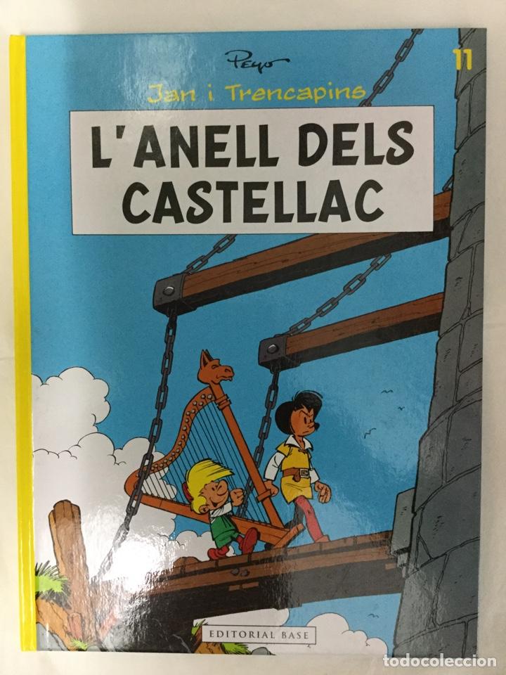 JAN I TRENCAPINS 11. L'ANELL DELS CASTELLAC (CATALÀ) - PEYO - EDITORIAL BASE (Tebeos y Comics - Comics otras Editoriales Actuales)