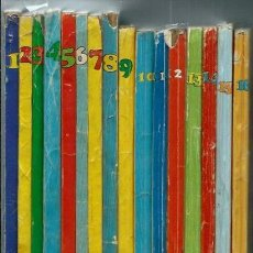Cómics: SUPER ALBUM BOMBA - RECOPILATORIO DE SPIROU ARDILLA - 16 NUMEROS, DEL 1 AL 16, COLECCION COMPLETA. Lote 155641454
