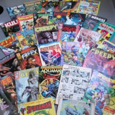 Cómics: LOTE DE TEBEOS COMICS VARIADOS MARVEL,MANGA, CREEPY, CAPITÁN TRUENO, SPIDERMAN.... Lote 155697334