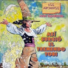 Cómics: ASI SURGIO EL TREMENDO TOBI - LOS ARCHIVOS DEL BOLETIN Nº 5 - IMPECABLE - OFM15. Lote 211259901