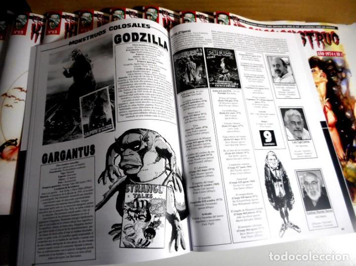 Cómics: EL KRONOMONSTRUO Nº 13 + CROMO MONSTRUO Nº 9 - Foto 3 - 156011378