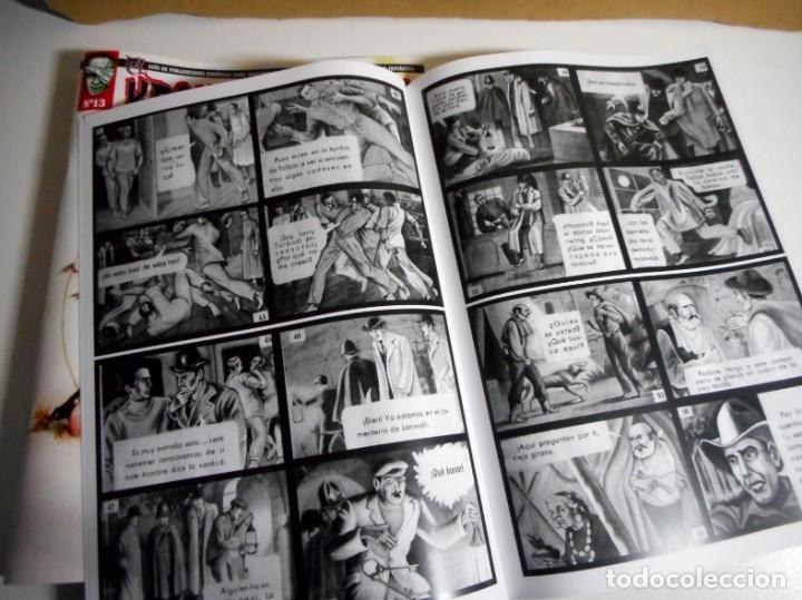 Cómics: EL KRONOMONSTRUO Nº 13 + CROMO MONSTRUO Nº 9 - Foto 6 - 156011378
