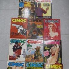 Cómics: COLECCION CIMOC DEL 1 AL 152 + 11 EXTRAS + 3 ALBUMES TAPA DURA - NORMA EDITORIAL. Lote 155817418