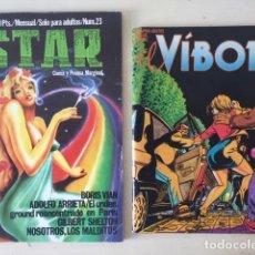 Cómics: REVISTAS STAR Y EL VÍBORA. Lote 155835122